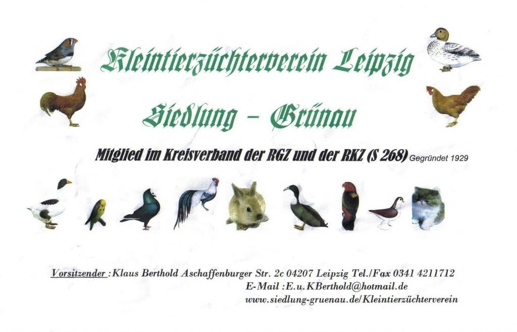 Kleintierzüchterverein Leipzig - Siedlung Grünau
